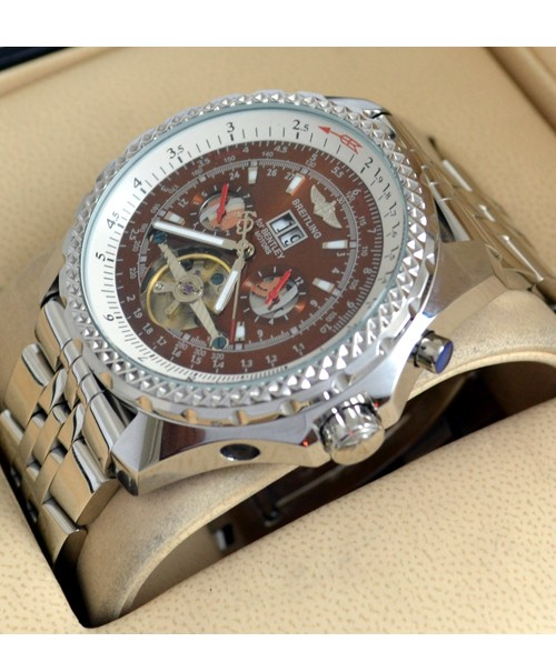 Breitling Automatic Bentley Motors Mulliner Tourbillon Watch