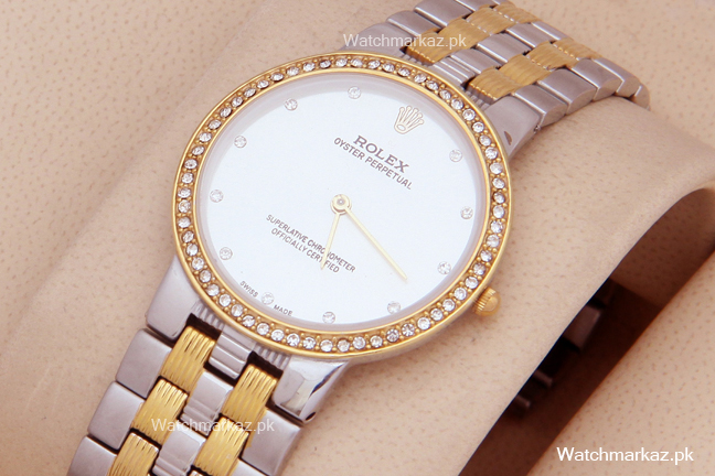 Rolex Oyster Stone Two Tone