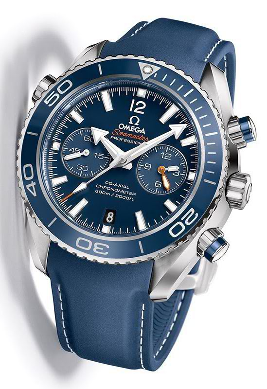 Omega Seamaster Co-Axial Blue
