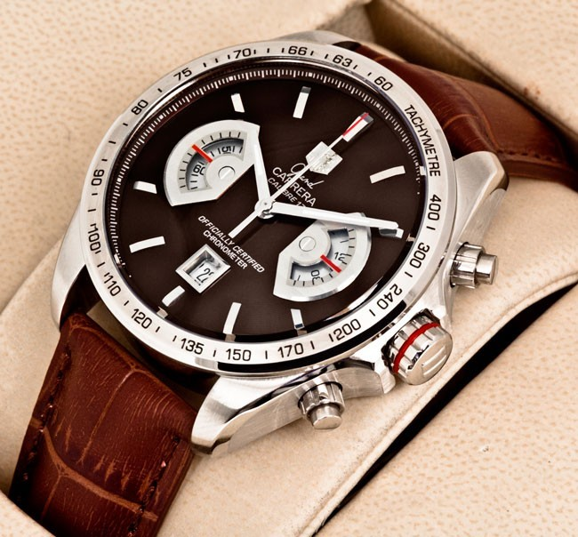 Tag Heuer Carrera Calibre 17 Brown