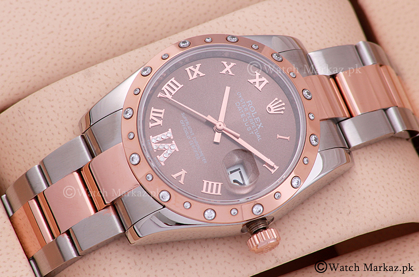 Rolex Date Just Chocolate Dial