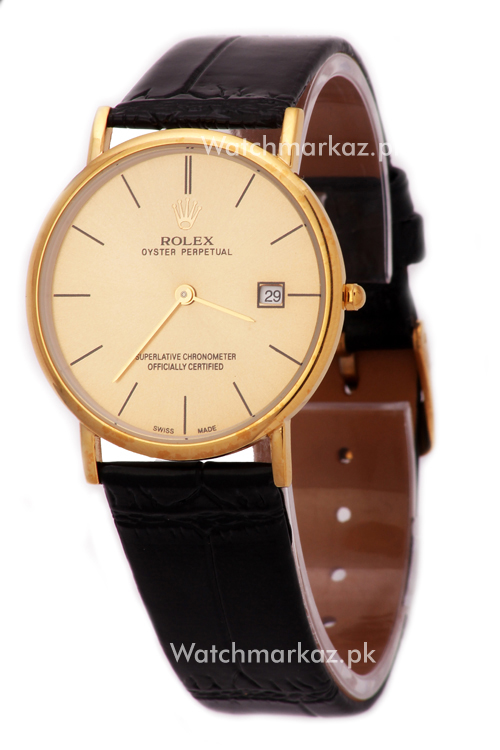 Rolex Cellini Vintage Golden Watch
