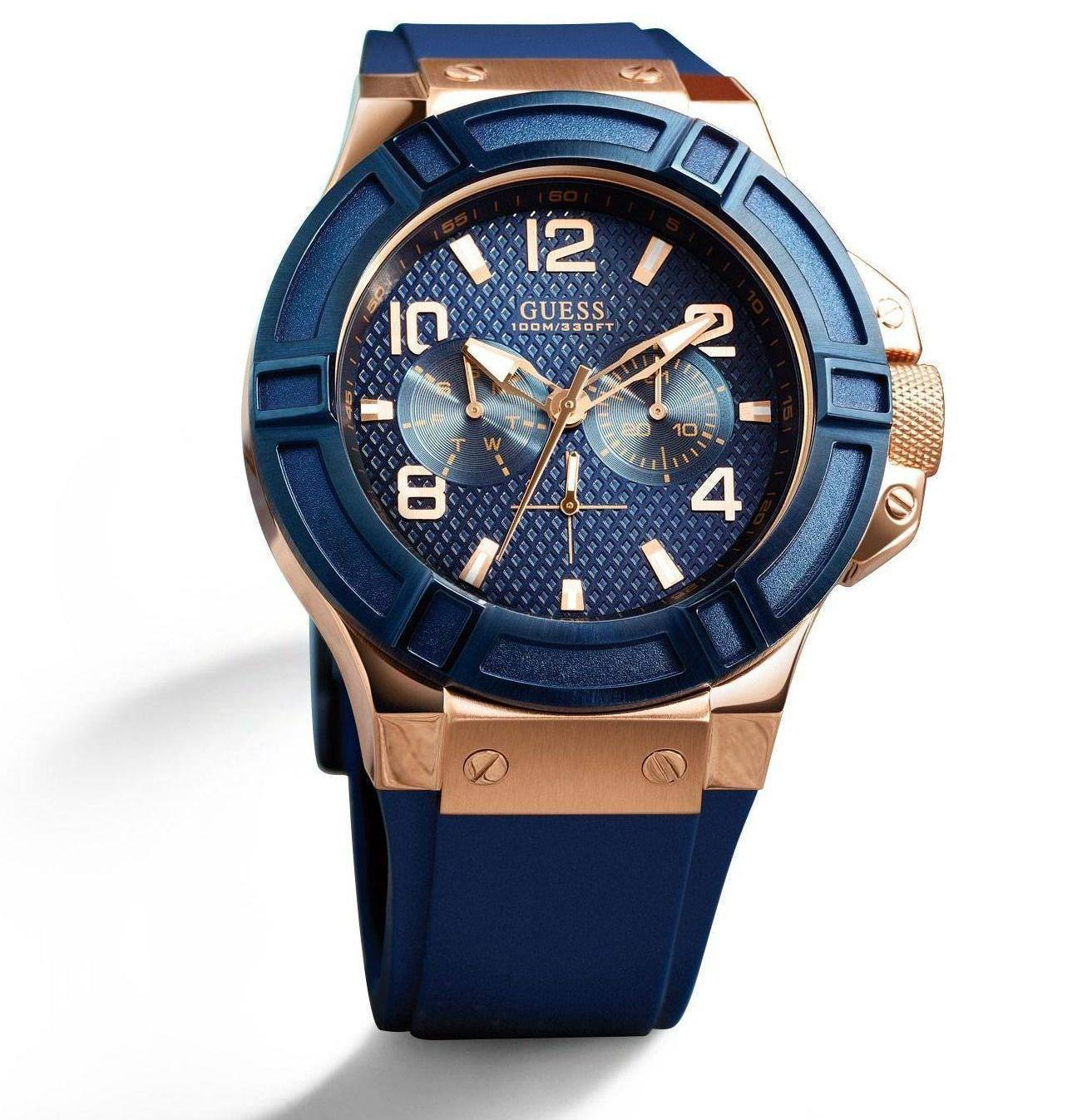00bb343e195a5 GUESS RIGOR BLUE WATCH - WatchMarkaz.pk - Watches in Pakistan ...