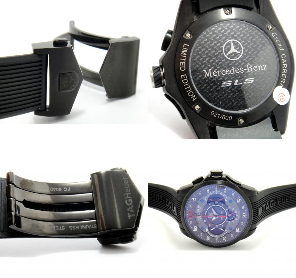Reloj Tag Heuer Grand Carrera Mercedes Benz Sls