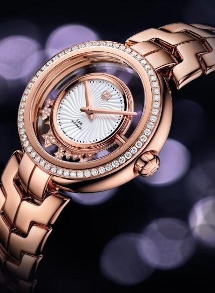 Tag Heuer Link Lady Diamond Star Watch