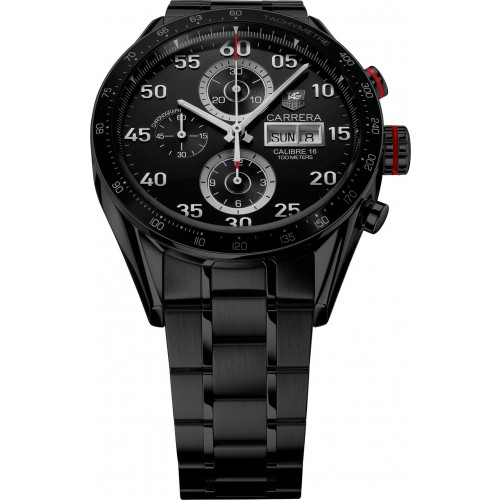 Tagheuer Carrera Calibre 16 Exclusive Black