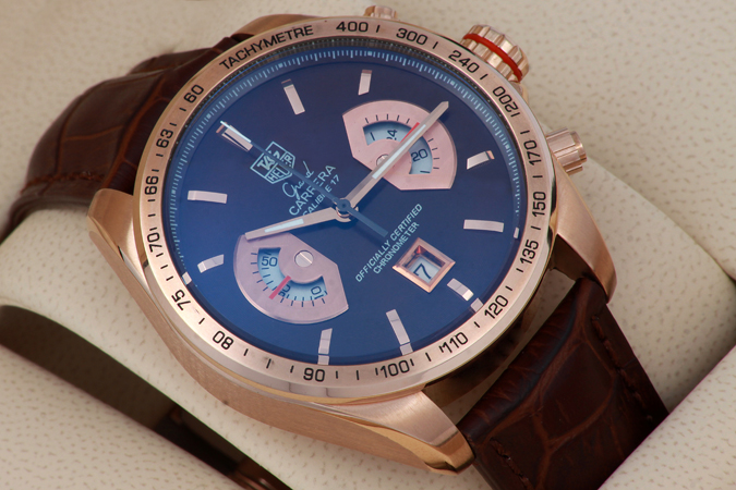 Tag Heuer Calibre 17 Rose Gold