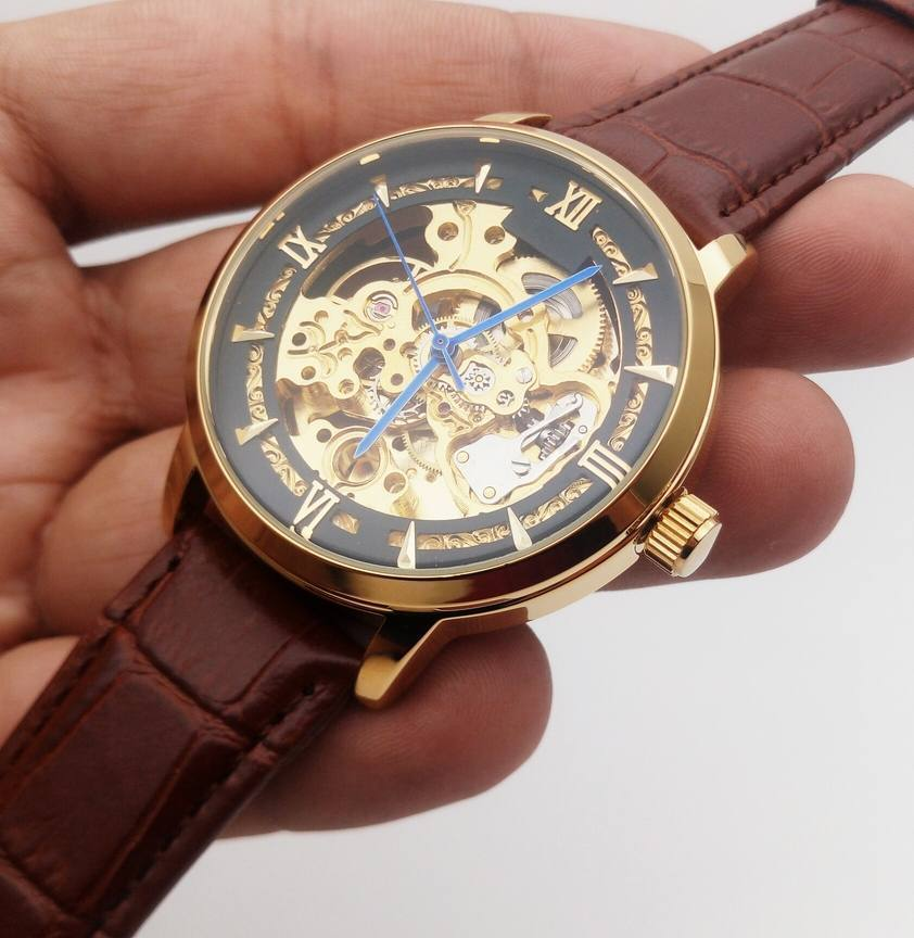 The Skeleton Auto Formal Watch